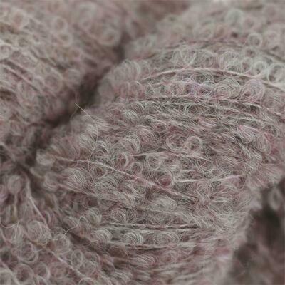 Alpaka Boucle (c970/Розовая пудра)
