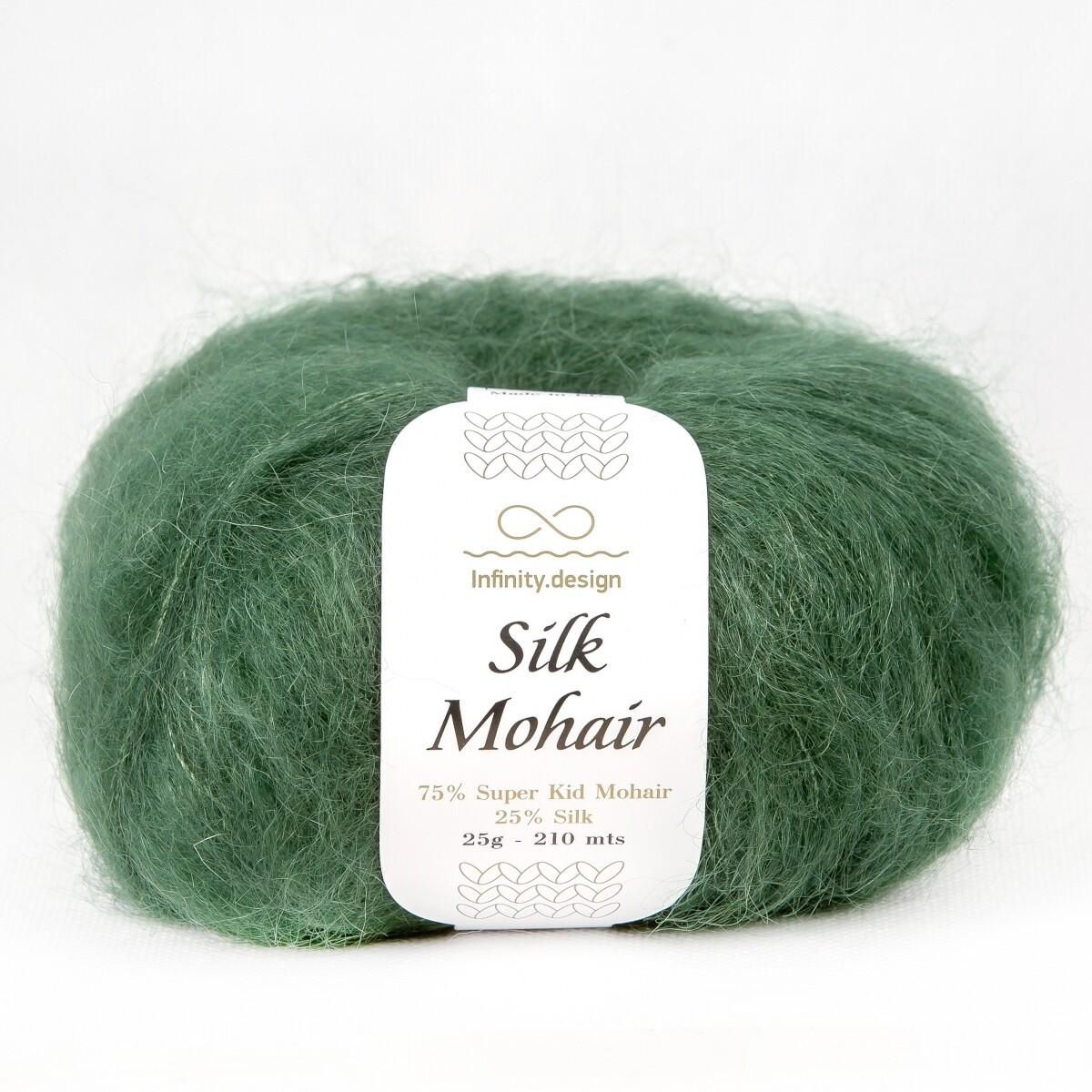 Silk mohair (8264/Хвоя))