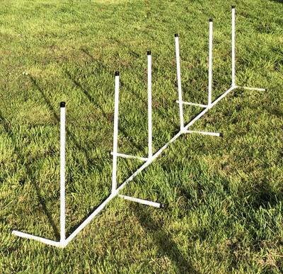 Six Weave Poles