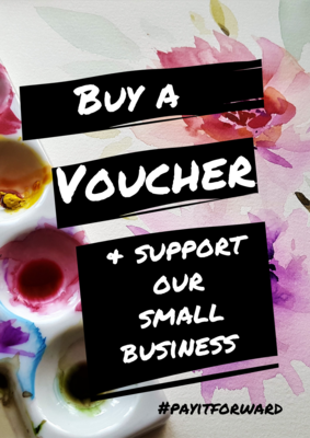 Voucher, in support of our small business