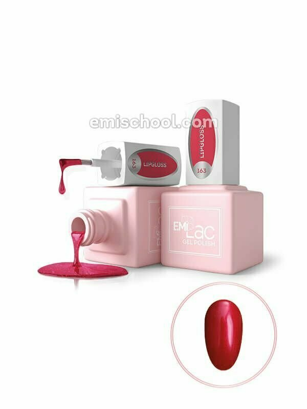E.MiLac Fashion Queen Lipgloss #163, 9 ml.