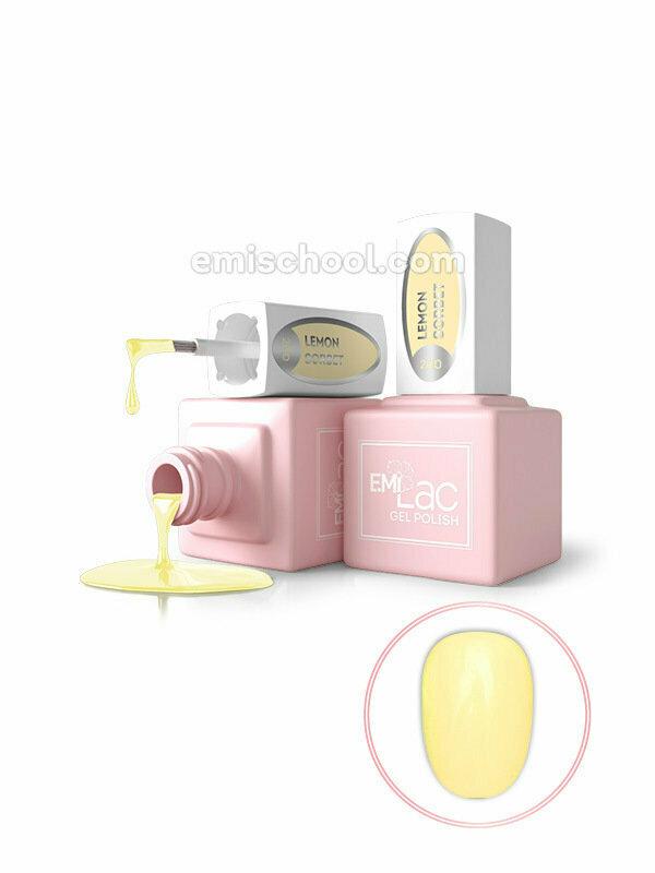 E.MiLac Pastel Rings- Lemon Sorbet #200, 9 ml.
