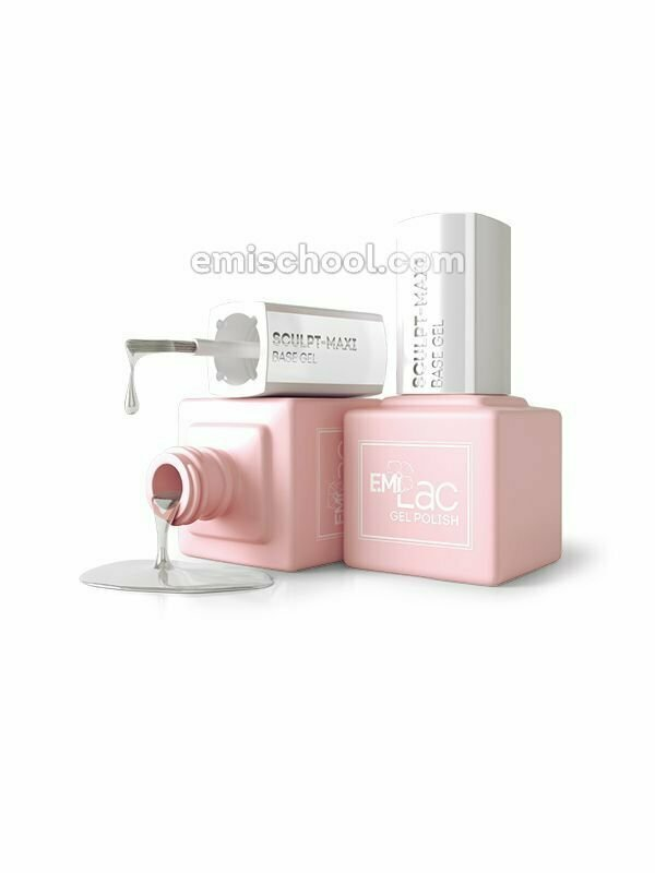 E.MiLac Maxi Sculpt Base Gel, 9/15 ml.