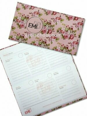 Notebook for Appointment Planning