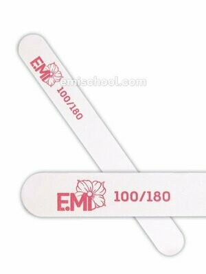 White Nail File for Artificial Nails- 100/180