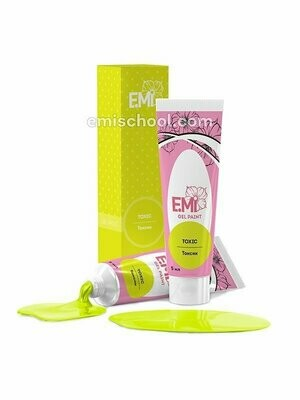 Neon Gel Paint- Toxic, 5 ml