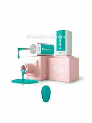 E.MiLac Turquoise #034, 9 ml