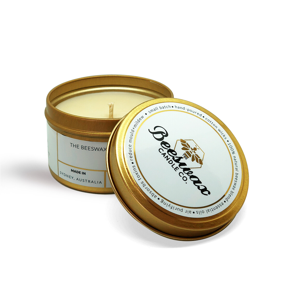 Bees Wax Candle - French Pear