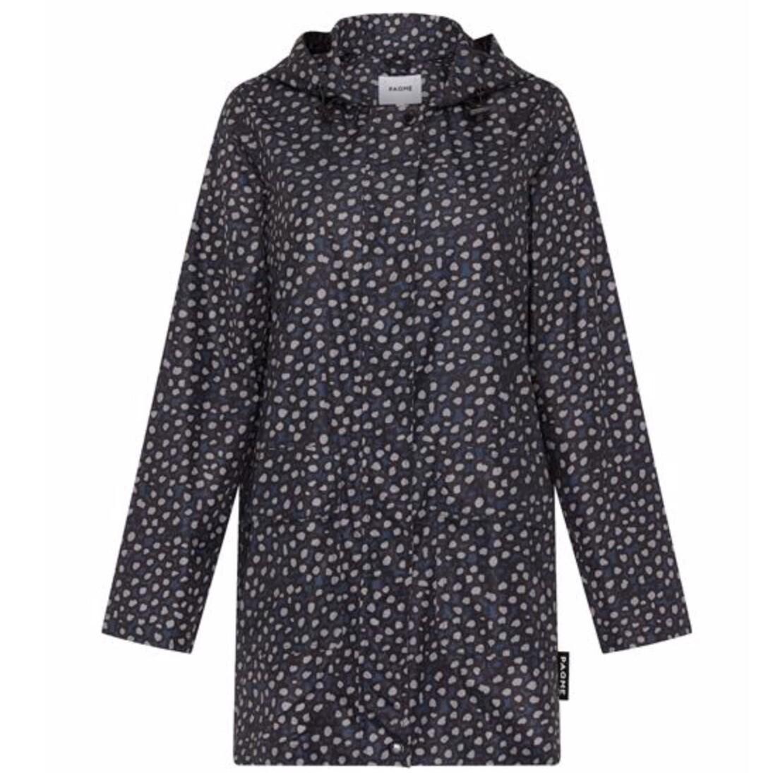 Womans Anyday Raincoat - Pebble Navy