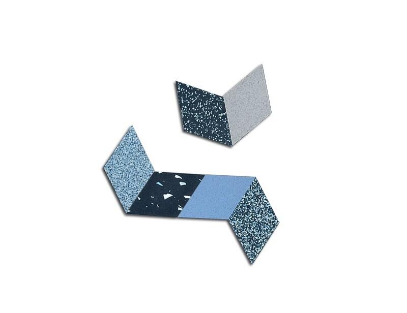 Rhombus Table Trivets - Blue - 6 pack