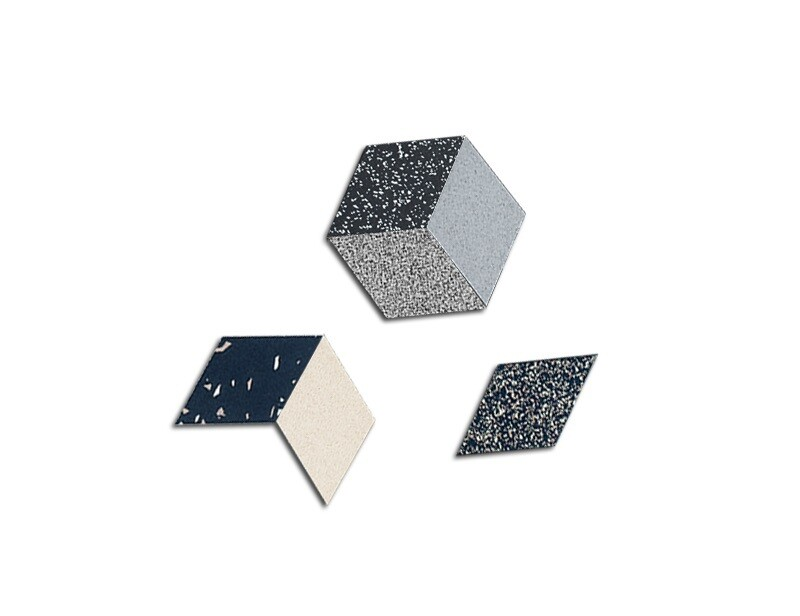 Rhombus Table Trivets - Sand - 6 pack