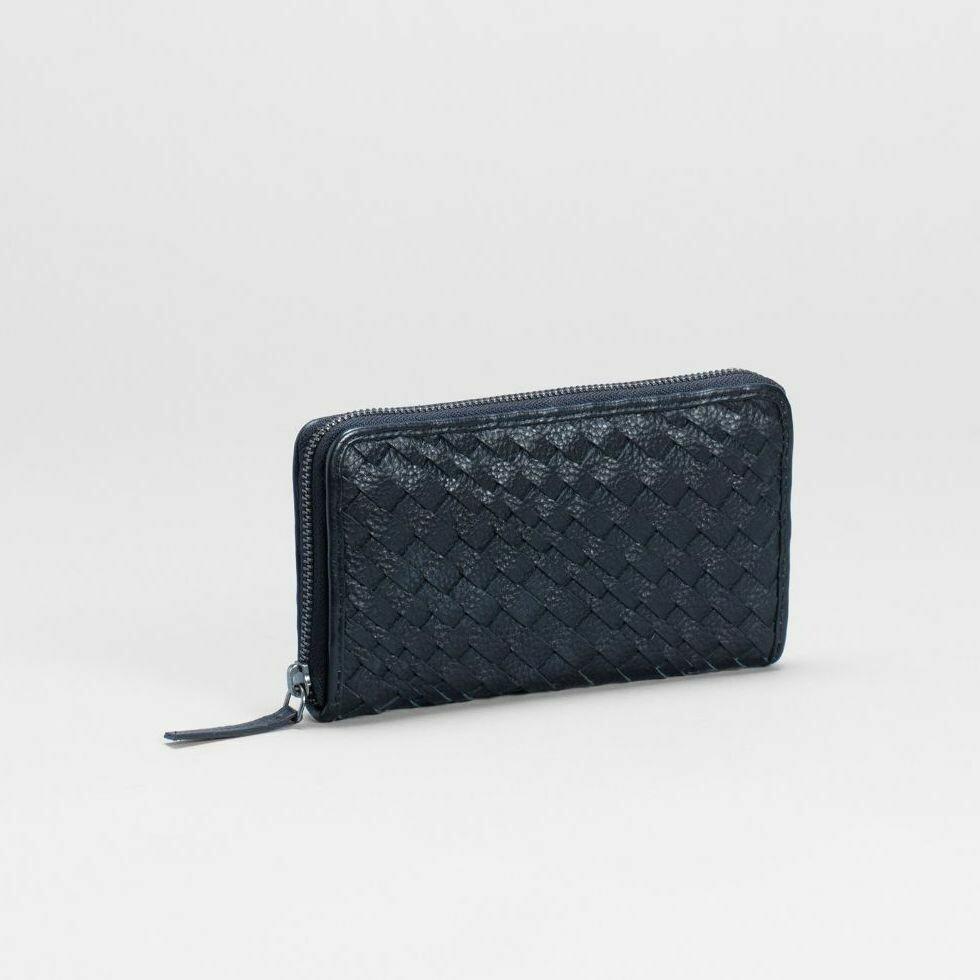 Bonna Zip Around Wallet - Black