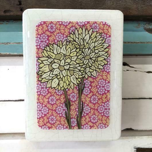 Mini Woodblock - Pom Pom Everlasting