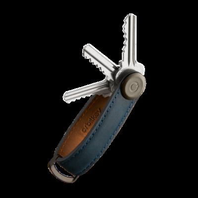 Key Organiser - Crazy-Horse - Marine Blue
