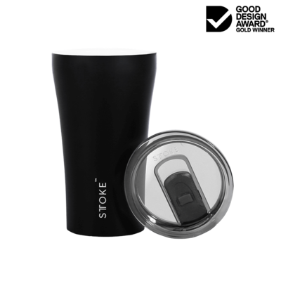 Coffee Cup Large - Black - Matt