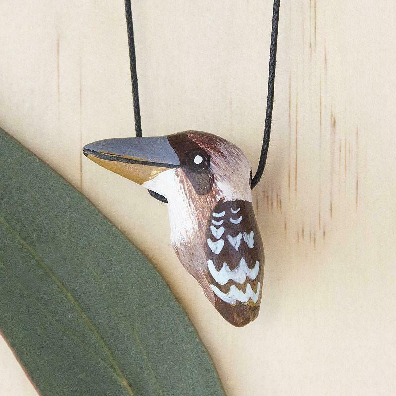 Whistle Necklace - Laughing Kookaburra