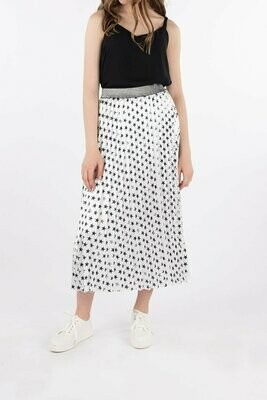 Pleated Skirt - Rock Star - One Size