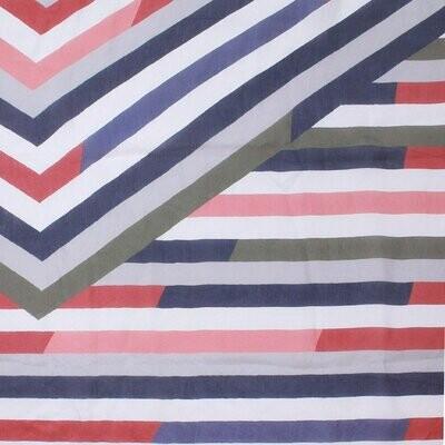 Harlo Hand Printed Large Scarf - 100% Silk