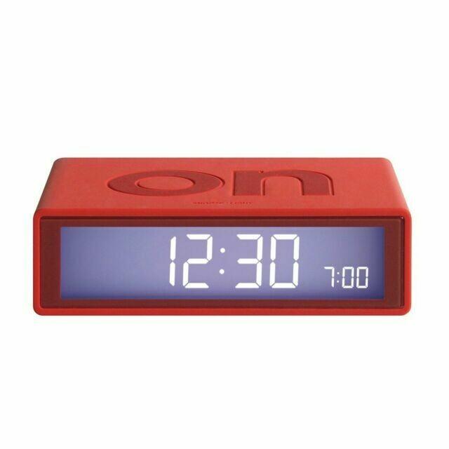 Flip Clock - Red