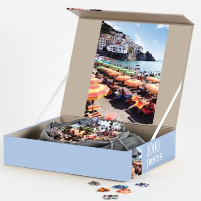 1000 Piece Puzzle - Amalfi Neapolitan