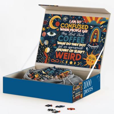 1000 Piece Puzzle - Three Quarter Latte