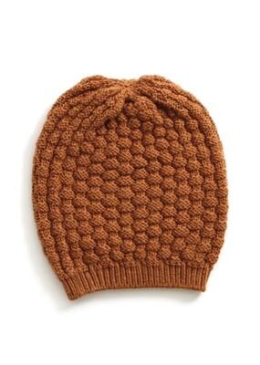 Bellamy Beanie - Amber - 100% Merino Wool