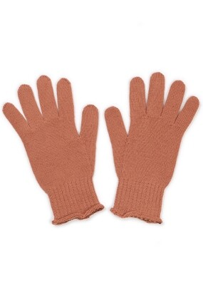 Jasmine Gloves - Butterscotch - 100% Merino Wool