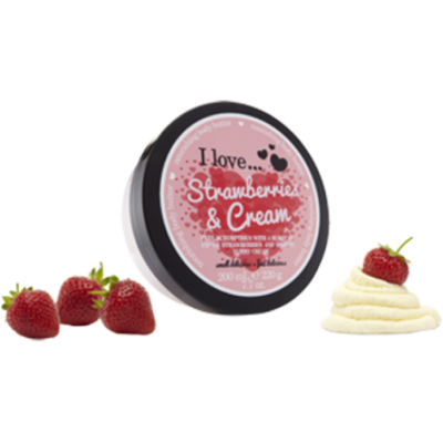 I Love Body Butter Κρέμα Σώματος Strawberry & Cream 200ML