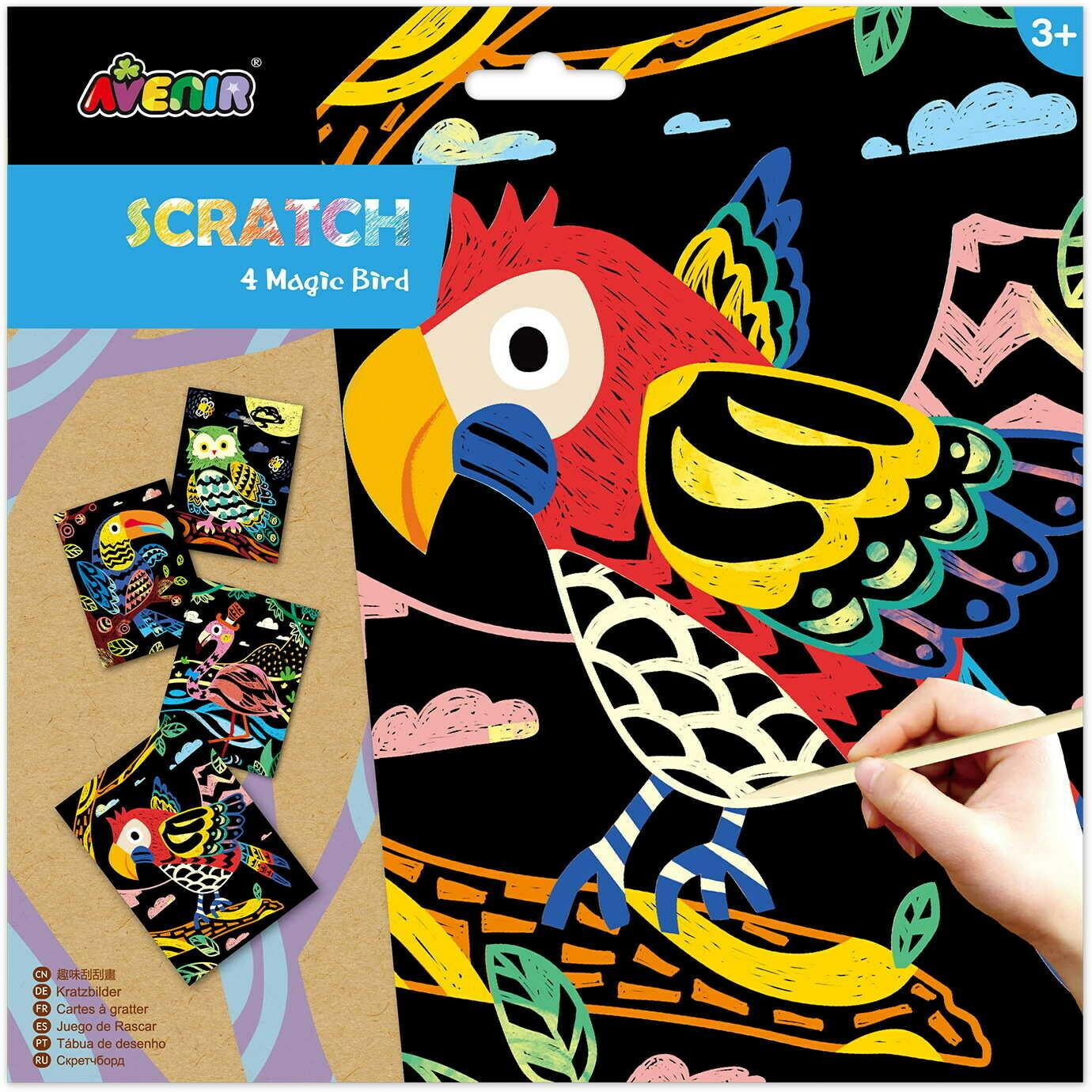 SCRATCH - Magic Bird