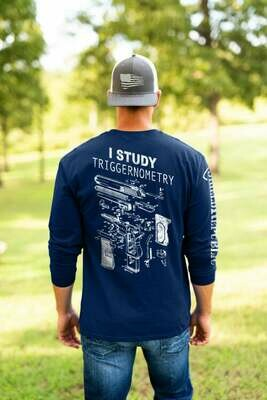 I Study Triggernometry T-Shirt 3D Gun Pistol Tee Father's Day Gift Sale I Study Triggernometry Funny Gun Lovers T-Shirt Gift || Guns Lover Shirt || Guns Lover T-Shirt || Gift For Gun Lovers tee
