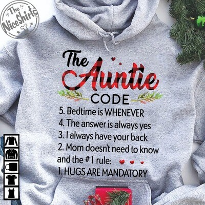 The Auntie Code Auntie Shirt | Aunt TShirt | Auntie Gift | Best Aunt Ever | Mothers Day Gift | Mom Shirt, Aunt Gift, Shirts With Sayings, Aunt Shirt, Auntie Shirt, aunt tshirt, gift for her, mom shirt
