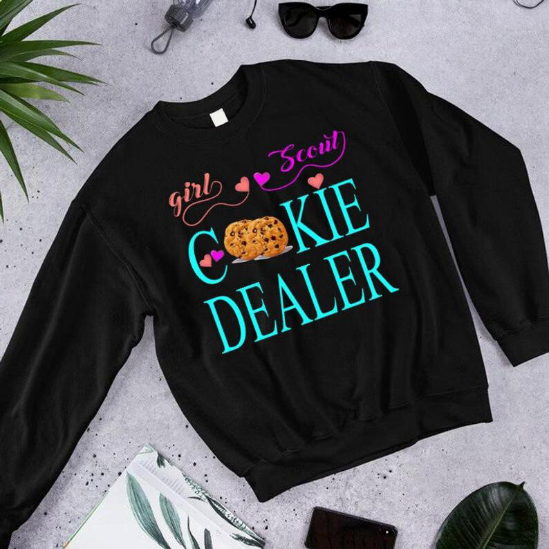 Girl Scout Cookie Dealer, Keep CALM I have Girl Scout cookies  Proud Parent of, a Cookie Dealer, Girl Scout Cookie, Girl Scout Mom Shirt, Girls Scout Troop, Troop Leader, Cookie Dealer Sweat, Cookie S
