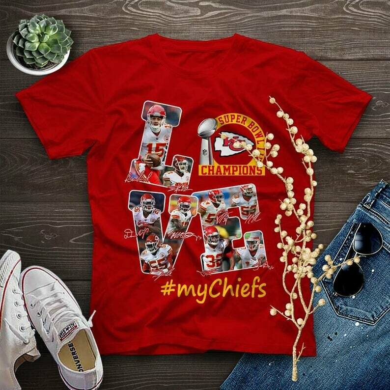 Kansas City Chiefs Super Bowl 54 2020 LIV Champions Mahomes NFL Football Team Dad Mon Kid Fan Gift T-Shirt KC Football Team, Kansas City Chiefs, Funny Football gift, Football life shirt, Football life