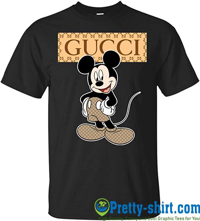 Gucci Mickey Mouse T-Shirt, Classic Logo Gucci, Gucci Shirt, Gucci T-shirt, Gucci Logo, Gucci Fashion shirt, Fashion shirt, Gucci Design shirt,Snake Gucci vintage shirt