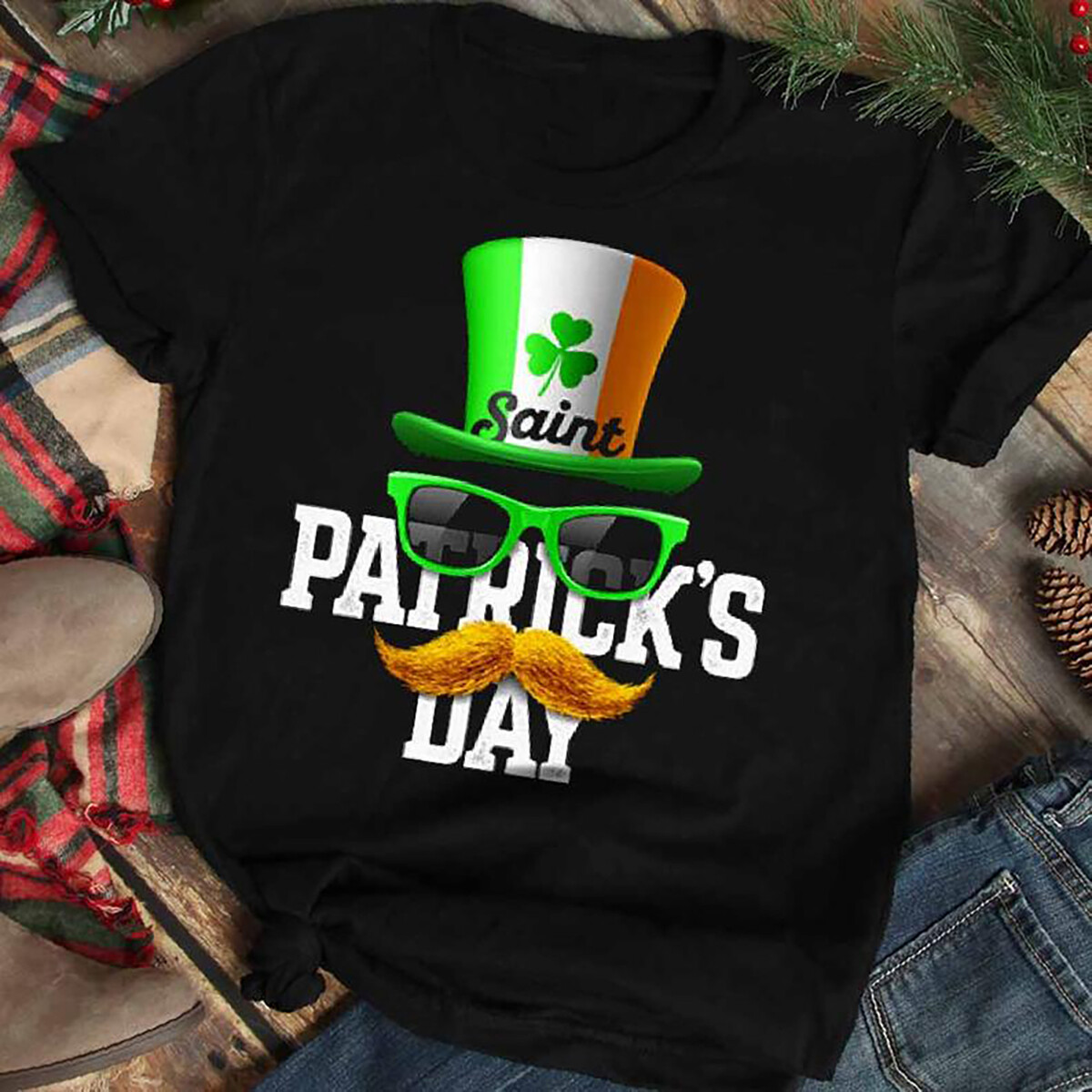 St Patrick's Day Leprechaun Hat Shirt-Leprechaun Hat St Patricks Day Shirt,St Patricks Tee,Irish Shirt,St Paddy Shirt,Disney St Patricks Day