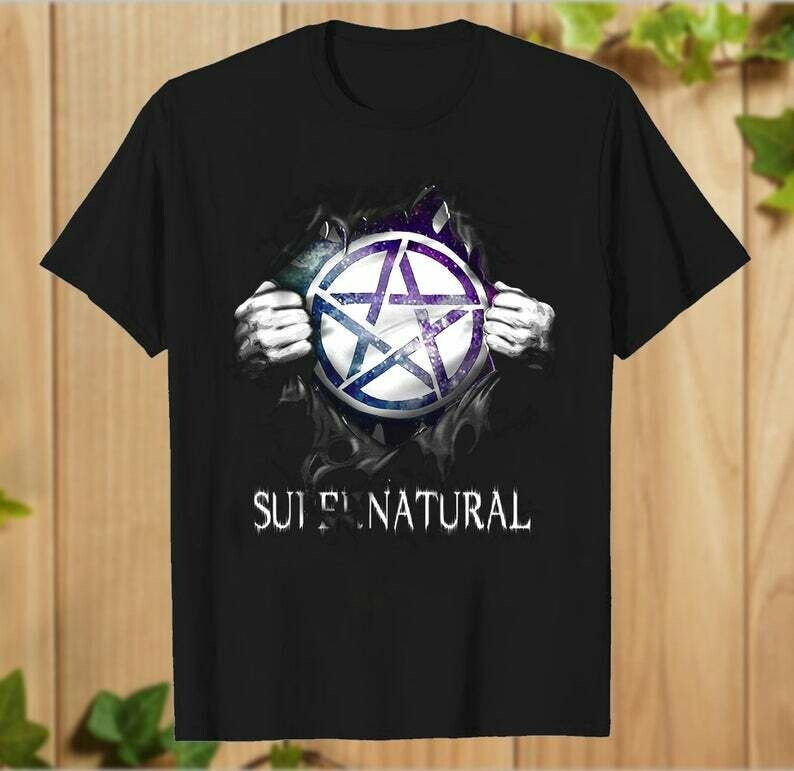 Supernatural Sam Dean Winchester 15 Years Just Funky Super Natural Join The Hunt T-shirt- hung06032020