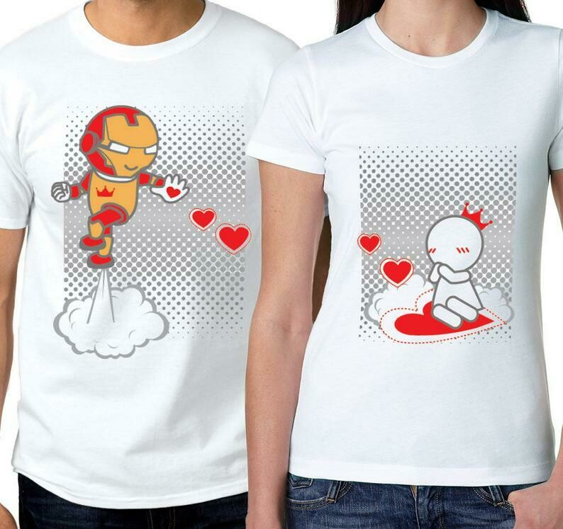 Matching Couples Shirts Ironman Shirt Ironman Gifts Avengers Shirt Couples Gift Boyfriend Gift Husband Gift BoldLoft His and Hers Shirts