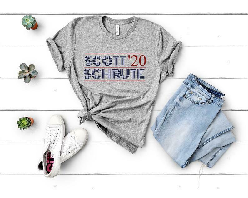 Michael Scott for President Shirt, The Office TV Show Shirt, That's What She Said Shirt, Michael Scott 2020 Shirt, Dunder Mifflin Tee