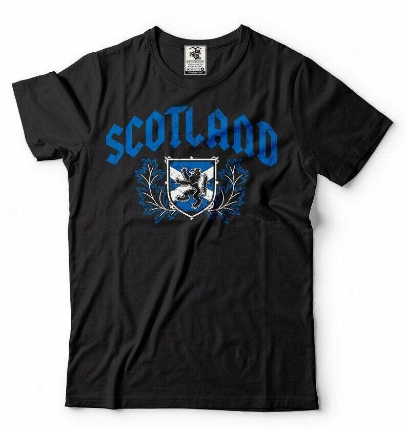 Scotland T-shirt Mens tee shirt Scottish Roots tee shirt Scotland heritage Mens shirt Unisex Shirt Christmas Gift Birthday Gift tee