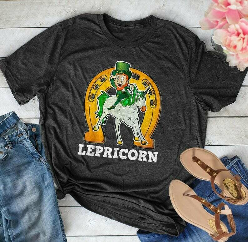 Lepricorn Unicorn St Patrick's Day Funny Gift