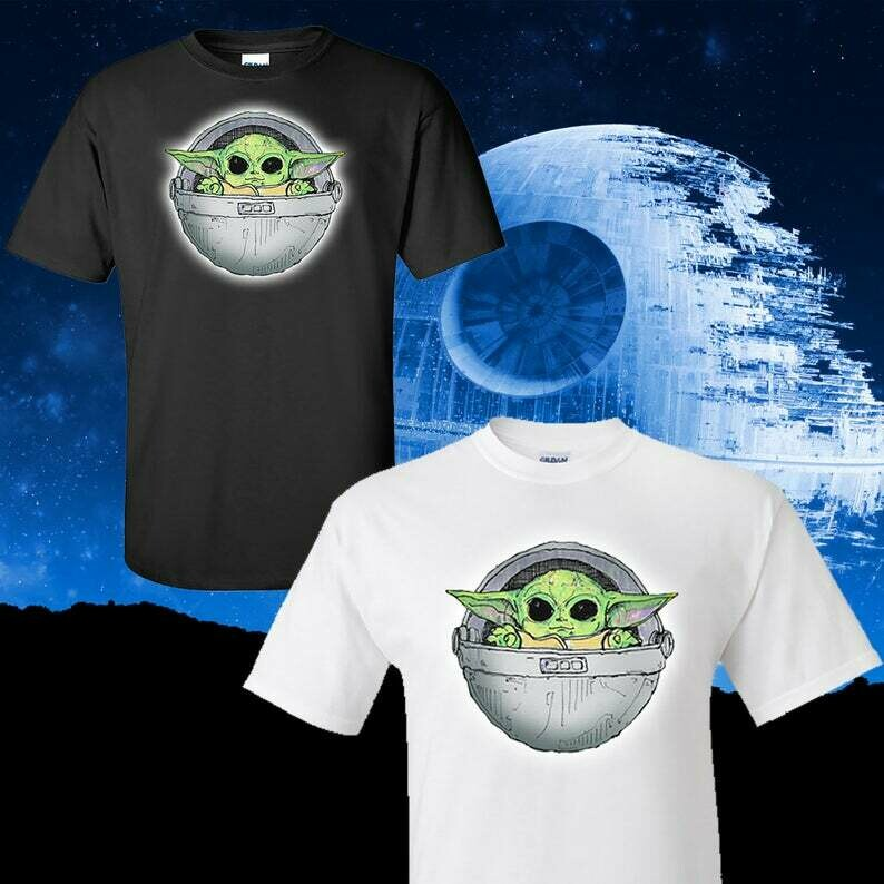 Baby Alien Wars, The Child T Shirt, Available In Sweatshirt, Long Sleeve, Youth Shirt, Stars Parody