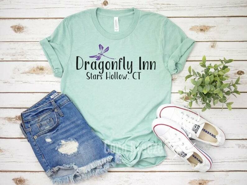 Dragonfly Inn - unisex tshirt. Gilmore girls tv show, gilmore girls tee, stars hollow, luke's diner shirt, gilmore shirts, luke's diner tee