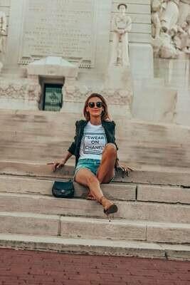 Swear on my Chanel - Carrie Bradshaw Graphic Tshirt