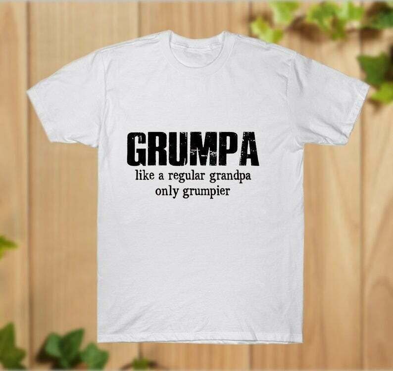 Grumpa It_s like Grandpa Only Grumpier Funny Pap T-Shirt - hung07032020