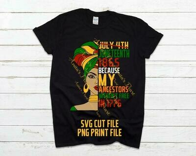 Juneteenth SVG; Juneteenth Woman; Juneteenth Day; Juneteenth Shirt; Juneteenth PNG