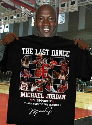 Michael Jordan Shirt, The Last Dance Shirt