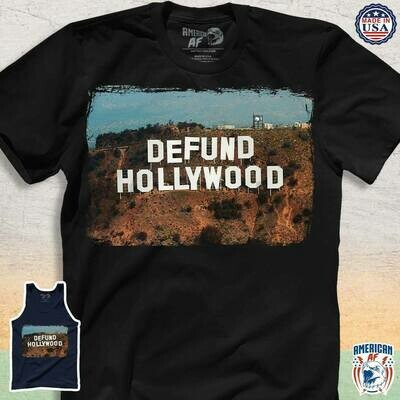 Defund Hollywood Shirt