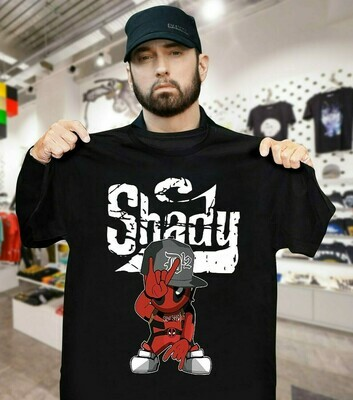 Official Deadpool Style Slim Shady shirt
