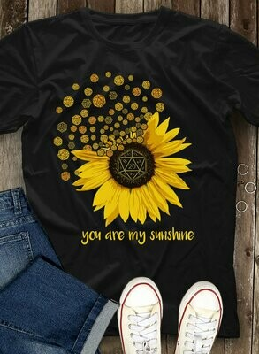 Jack Skellington Sunflower You Are My Sunshine Shirt