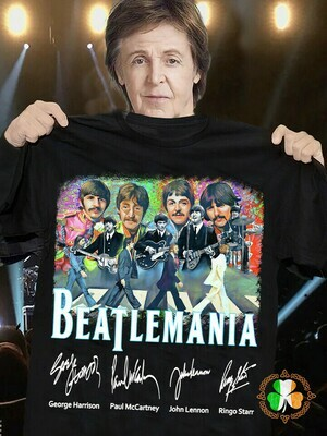 The Beatles Beatlemania signature shirt